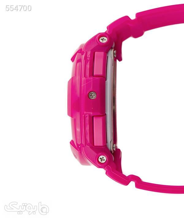 ساعت مچی عقربهای زنانه کاسیو Casio مدل BGA-130-4B صورتی ساعت
