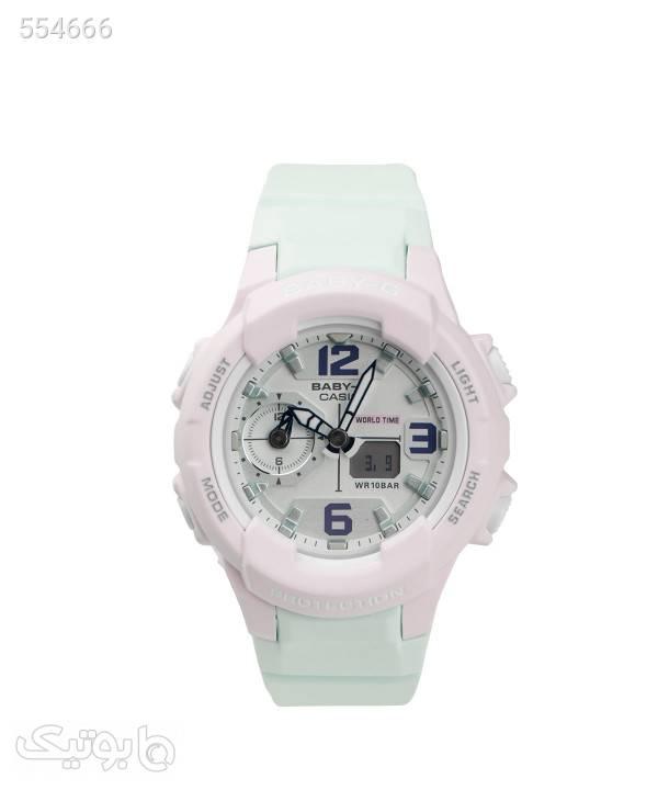 ساعت مچی عقربهای زنانه کاسیو Casio مدل BGA-230PC-6BDR سفید ساعت