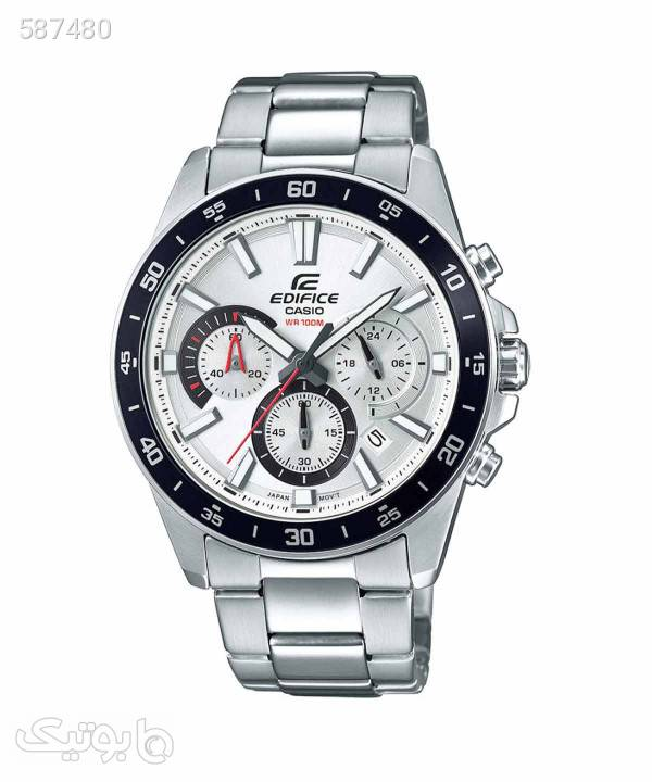 ساعت مچی مردانه کاسیو Casio مدل EFV570D7A نقره ای ساعت