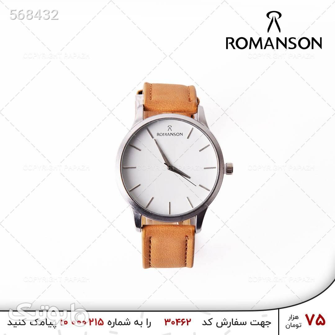 ساعت مچی مردانه ROMANSON مدل 1235 قرمز ساعت