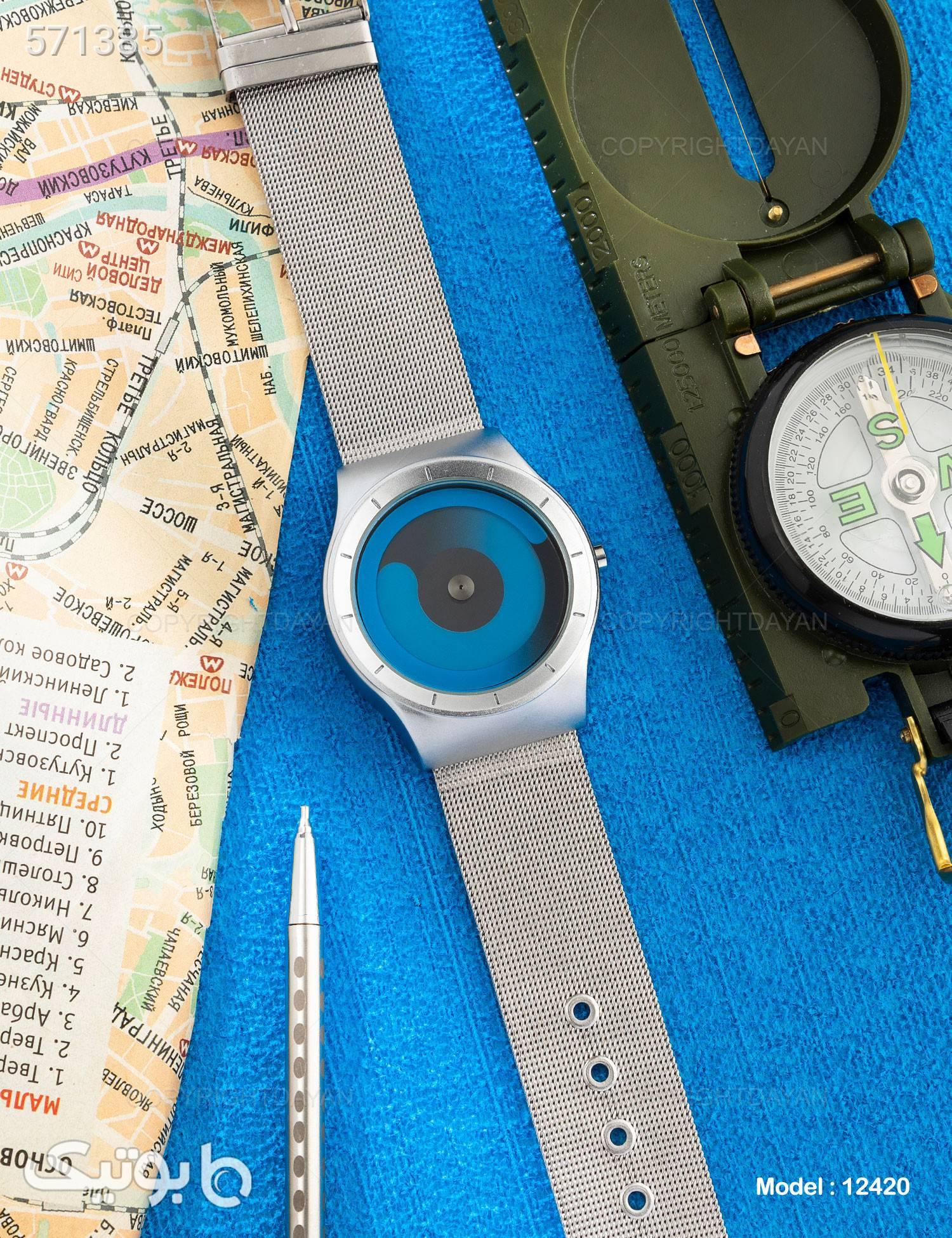 ساعت مچی  Libo مدل 12420 آبی ساعت