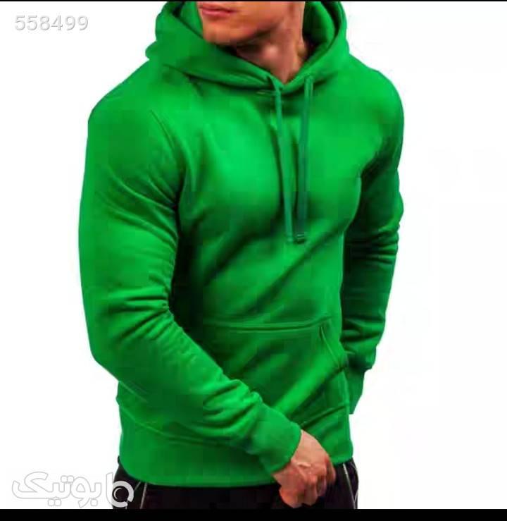 سیوشرت سبز سوئیشرت و هودی مردانه