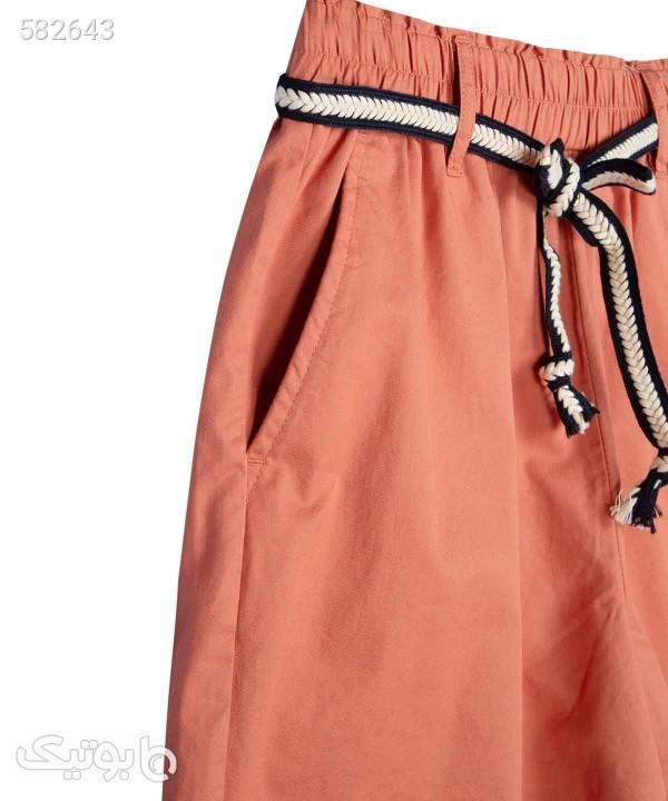 شلوارک زنانه کوتاه جین وست Jeanswest مدل 92264502 صورتی شلوارک زنانه
