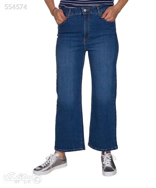 شلوار جین زنانه آر ان اس RNS آبی شلوار پارچه ای و کتانی زنانه