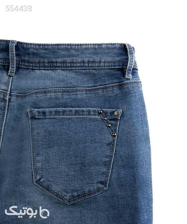 شلوار جین زنانه جین وست Jeanswest سورمه ای شلوار پارچه ای و کتانی زنانه