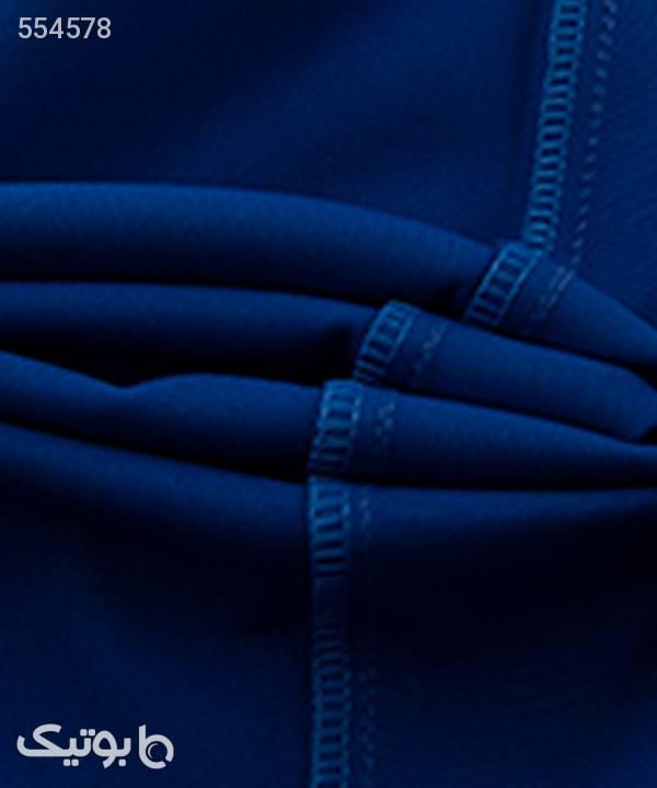 شلوار زنانه چاکدار تولیکا Tulika آبی شلوار پارچه ای و کتانی زنانه