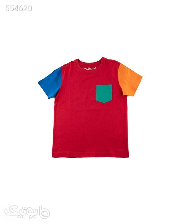 تیشرت پسرانه جیبدار بالنو Baleno قرمز لباس کودک پسرانه