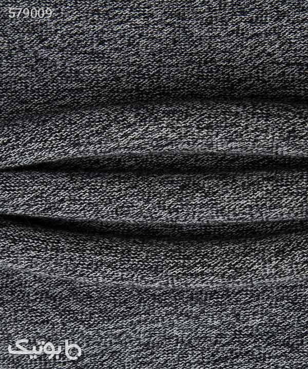 پلیور مردانه یقه گرد جین وست Jeanswest طوسی پليور و ژاکت مردانه