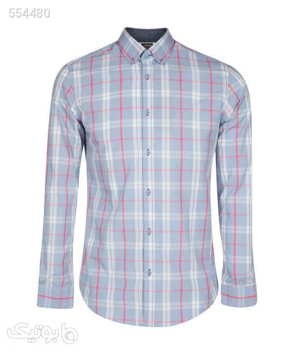 پیراهن آستین بلند مردانه ال آر سی LRC فیروزه ای پيراهن مردانه