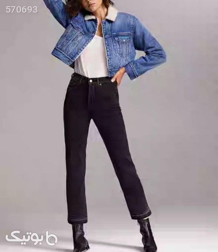 کت جین  آبی کاپشن و بارانی زنانه