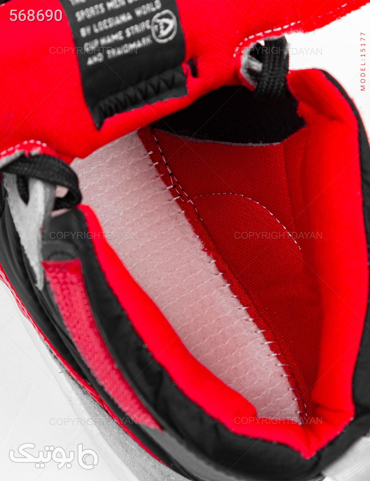 کفش ساقدار مردانه Nike مدل 15177 نقره ای كتانی مردانه