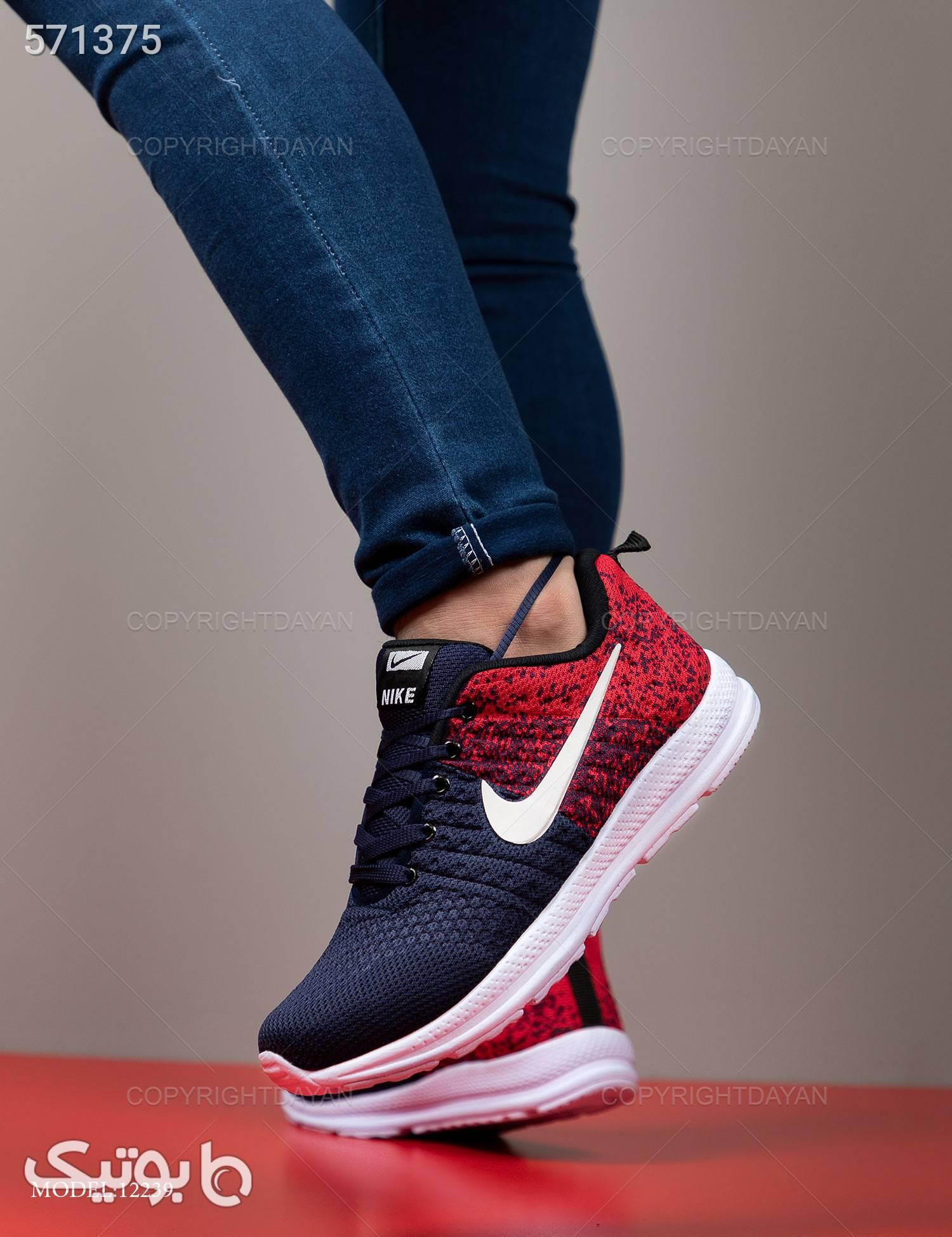 کفش مردانه Nike مدل 12239 سورمه ای كتانی مردانه