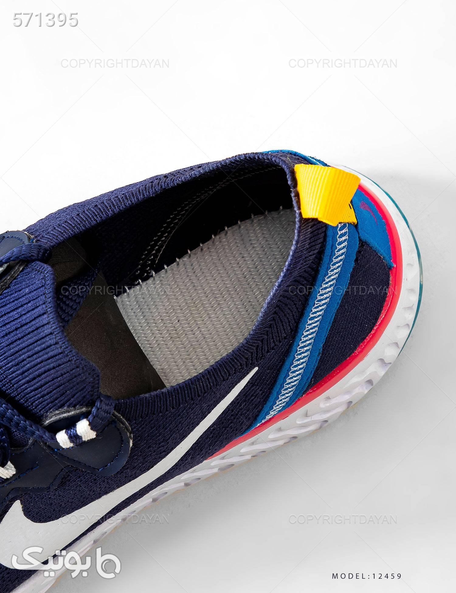 کفش مردانه Nike مدل 12459 سورمه ای كتانی مردانه