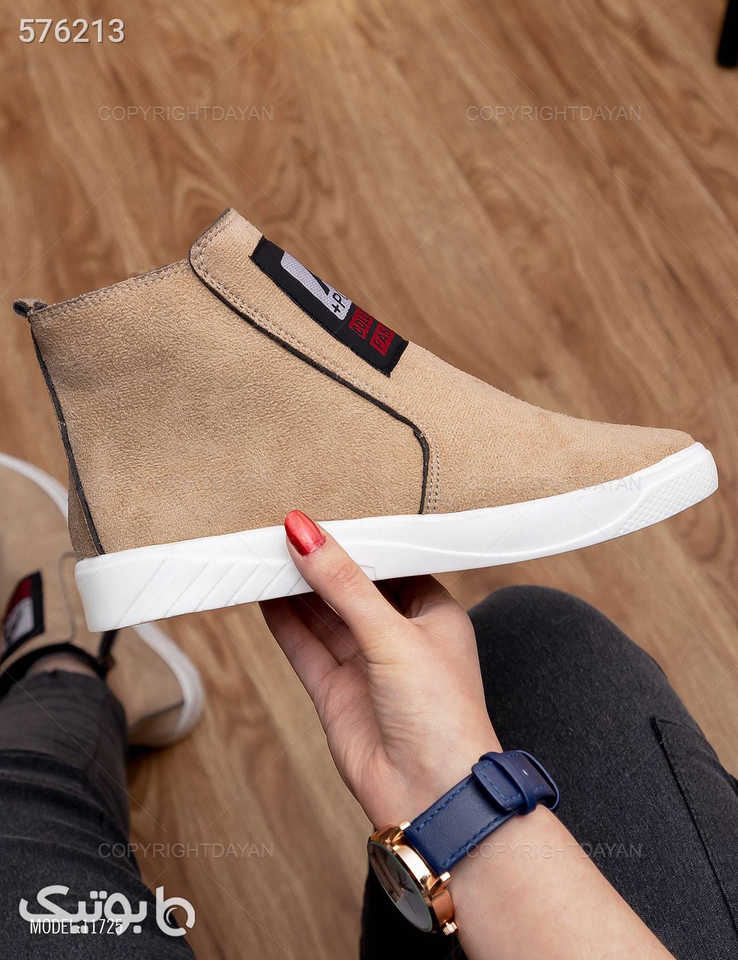 کفش ساقدار زنانه Nela مدل 11725 مشکی كفش مردانه