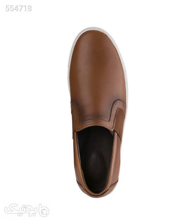 کفش مردانه راحتی شهر چرم Leather City مدل M8205 قهوه ای كفش مردانه