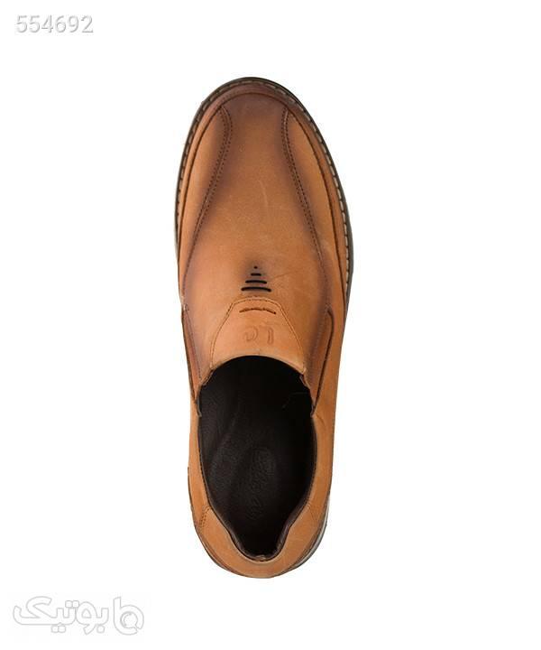 کفش مردانه راحتی شهر چرم Leather City مدل M9001 قهوه ای كفش مردانه