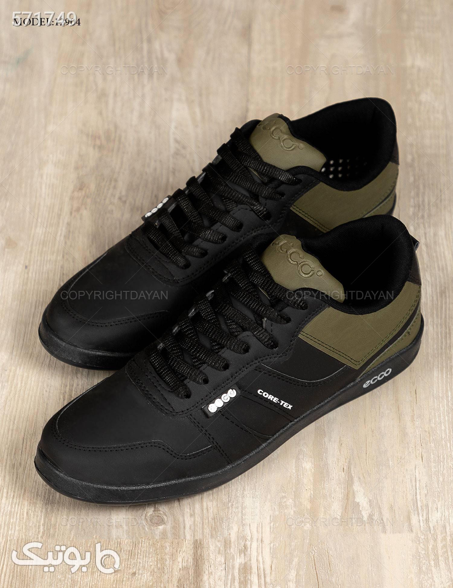 کفش مردانه Ecco مدل 12904 مشکی كفش مردانه