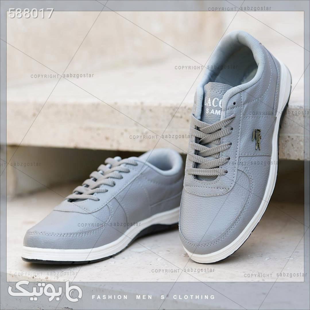 کفش مردانه Lacoste مدل picaso نقره ای كفش مردانه