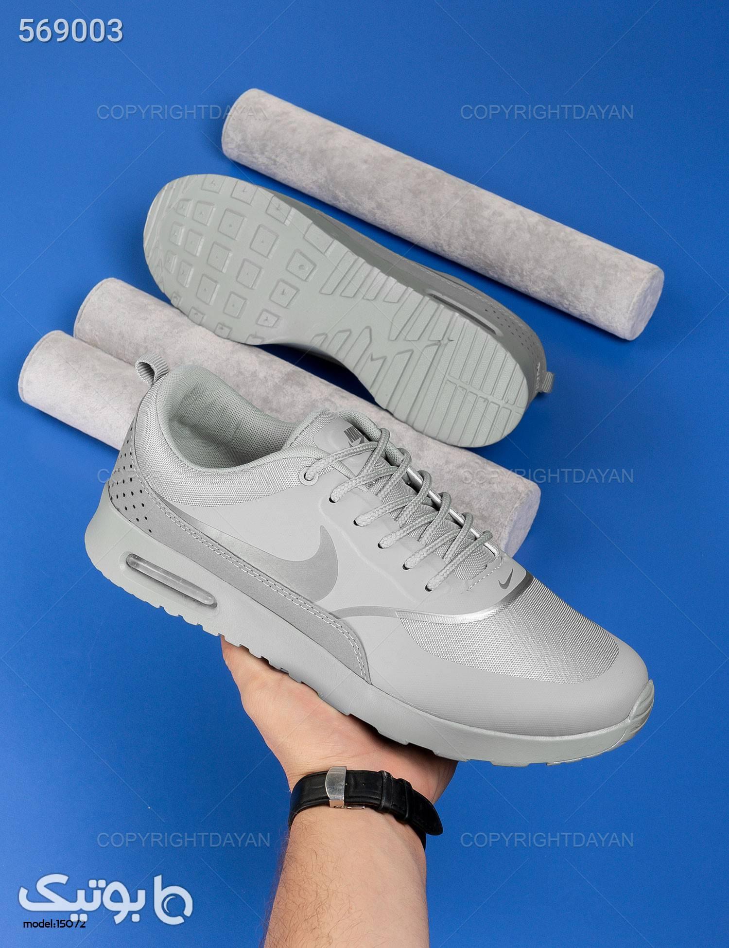 کفش مردانه Nike مدل 15072 طوسی كفش مردانه
