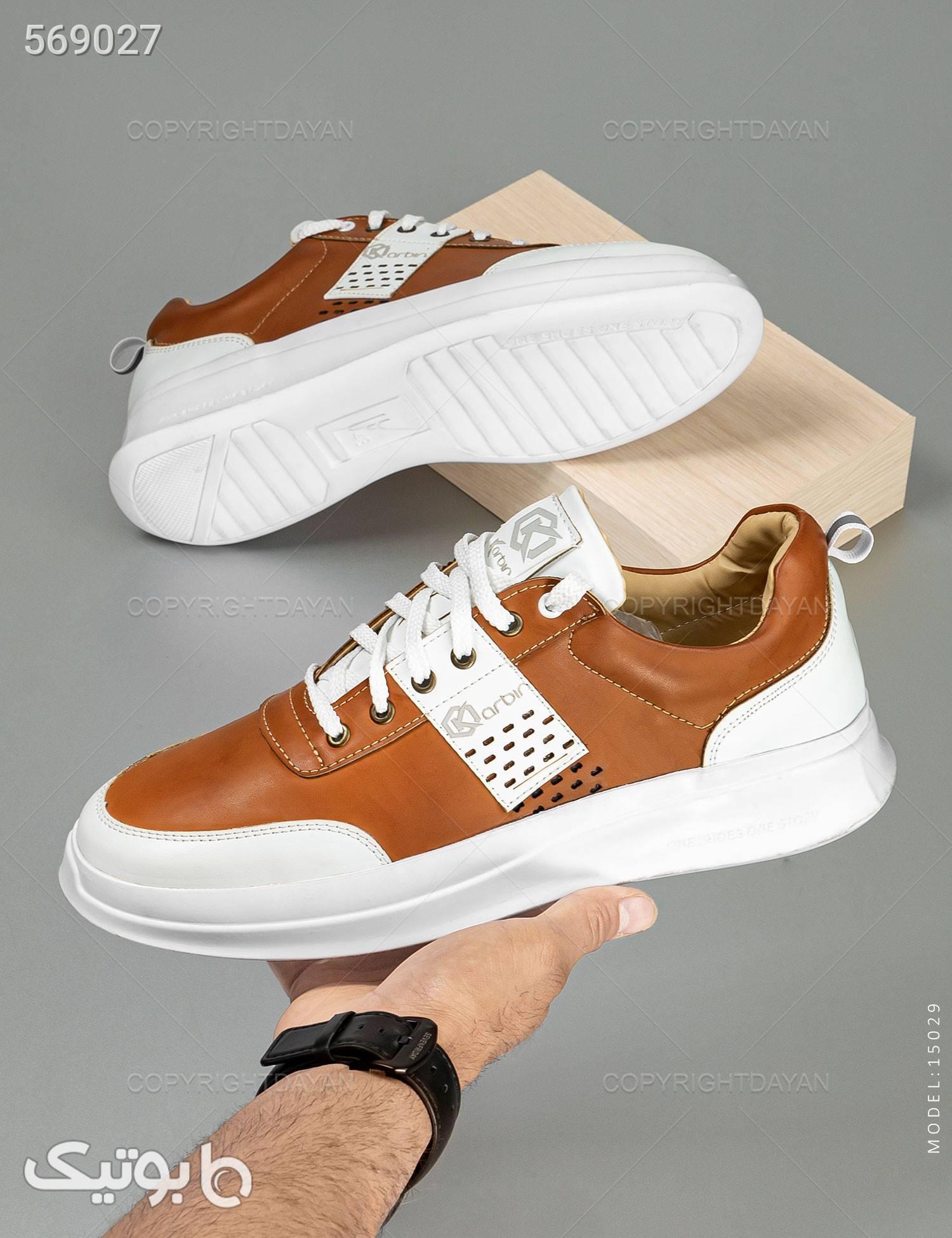 کفش مردانه Sevin مدل 15029 قهوه ای كفش مردانه