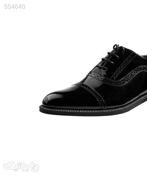 کفش ورنی مردانه لرد Lord مدل 6023 مشکی كفش مردانه