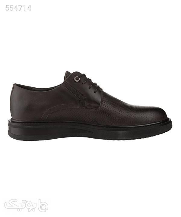 کفش کلاسیک مردانه شهر چرم Leather City مدل M9201 مشکی كفش مردانه