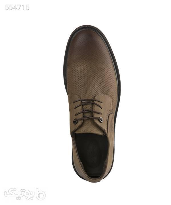 کفش کلاسیک مردانه شهر چرم Leather City مدل M9201 قهوه ای كفش مردانه