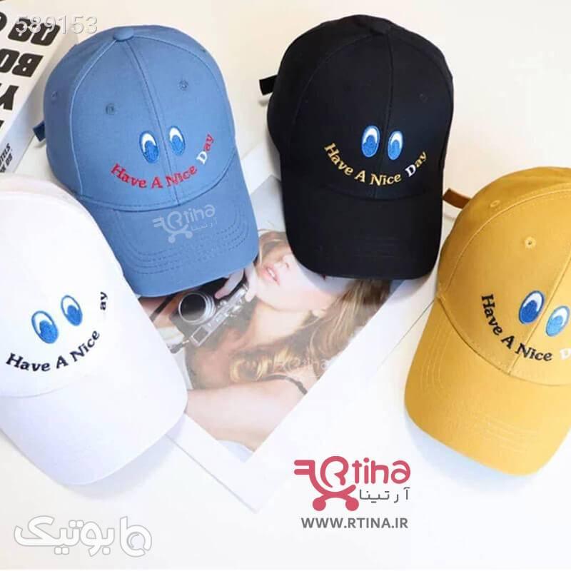 کلاه جدید دخترانه و پسرانه Nice Day آبی کلاه و اسکارف