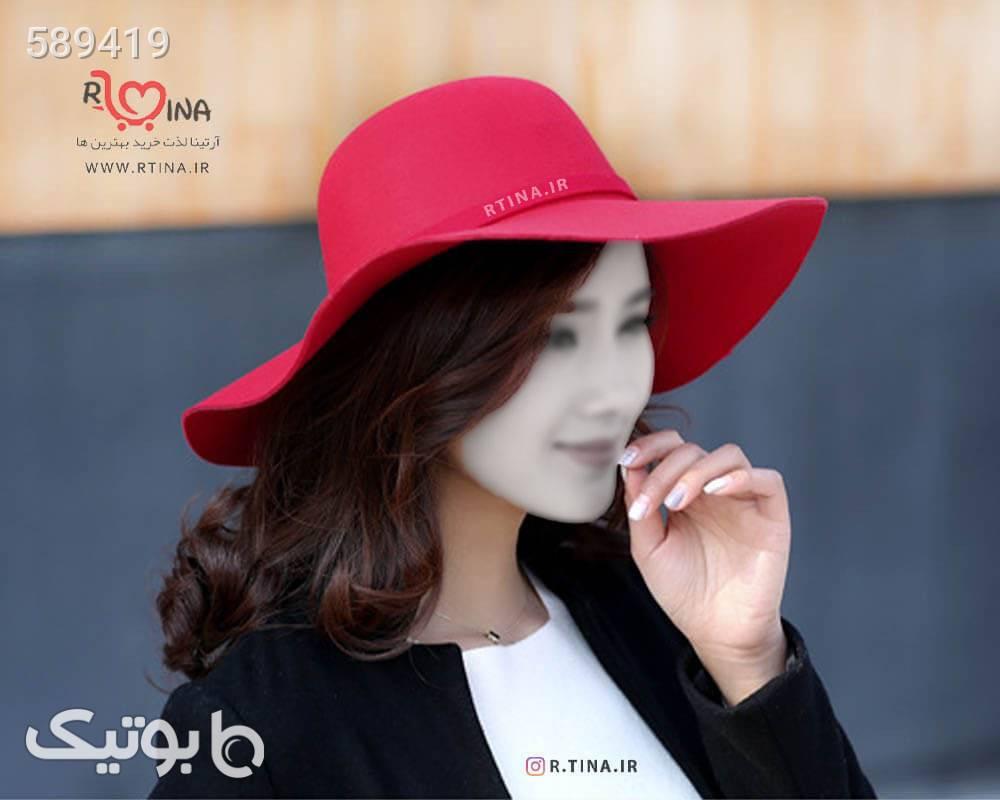 کلاه لبه دار شهرزادی طرح 1 قرمز کلاه و اسکارف