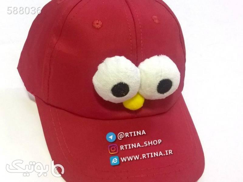 کلاه چشم قلمبه قرمز کلاه و اسکارف