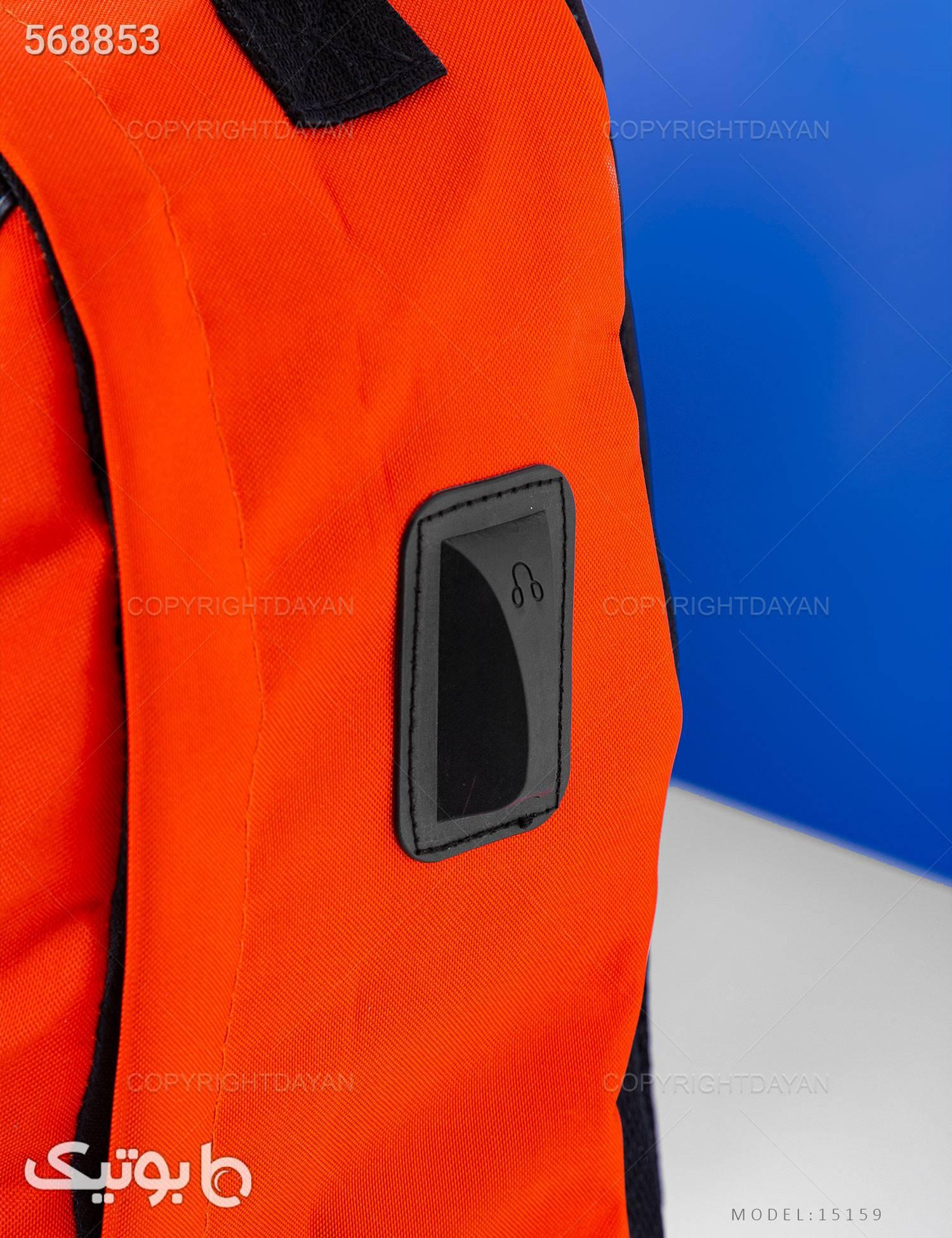 کوله پشتی  Brook مدل 15159 نارنجی کوله پشتی