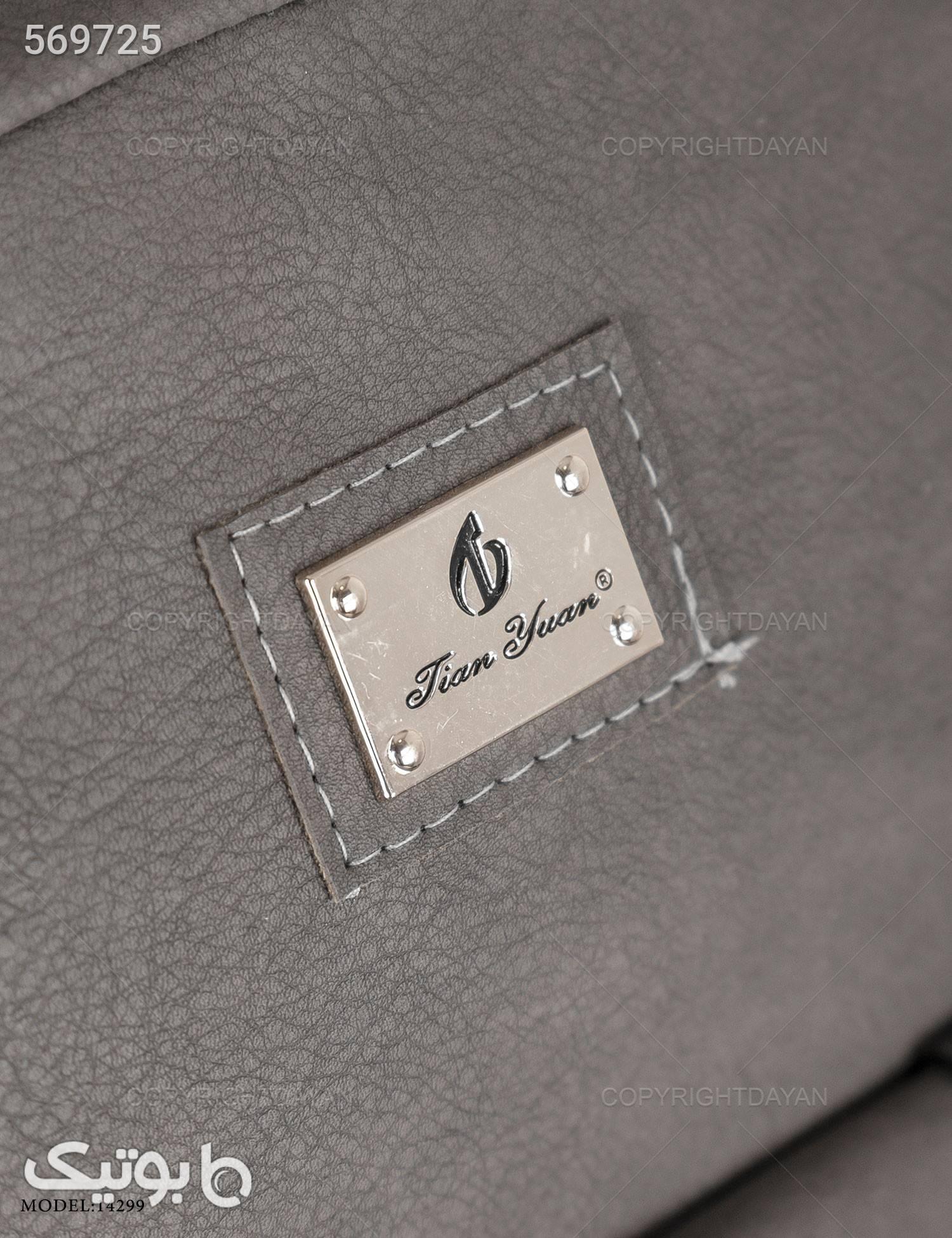 کیف Chanel  مدل 14299 طوسی کوله پشتی