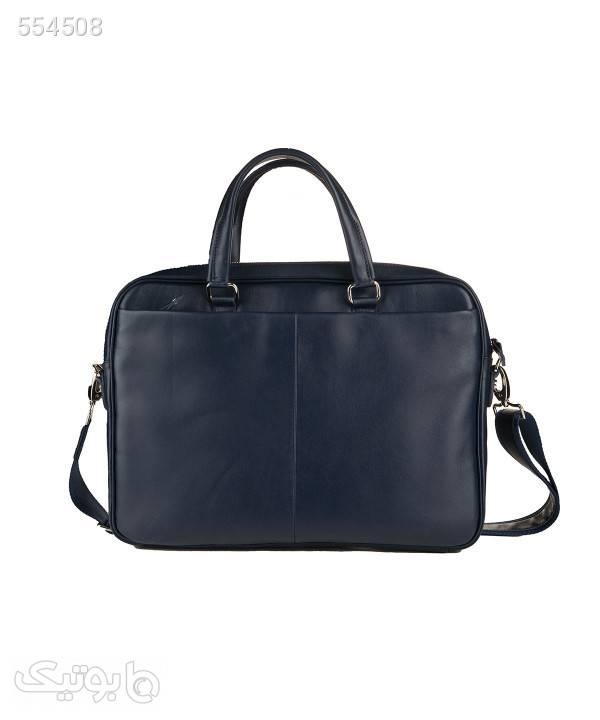 کیف اداری مردانه چرم مشهد Mashhad Leather مدل A0583-064 مشکی کیف اداری