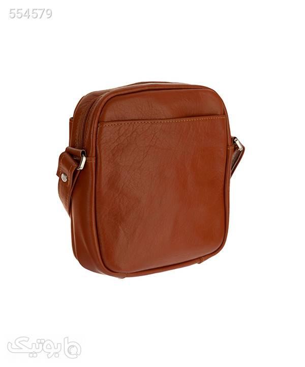 کیف دوشی زنانه چرم شیفر Shifer مدل 9510A قهوه ای كيف زنانه