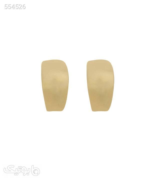 گوشواره میخی سه تایی طلایی کامیلا کنتی Camilla Conti نقره ای گوشواره