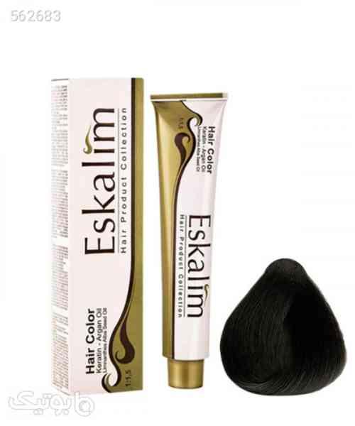 رنگ مو سری قهوهای اسکالیم Eskalim حجم 100 میلیلیتر قهوه ای 99 2020