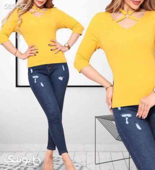 بلوز ⭐شیک و زیبا زرد 99 2020