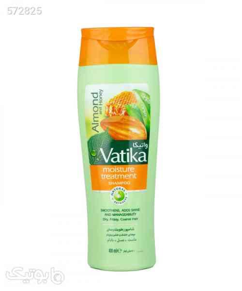 شامپو رطوبترسان موهای خشک واتیکا Vatika حجم 400 میلیلیتر زرد 99 2020