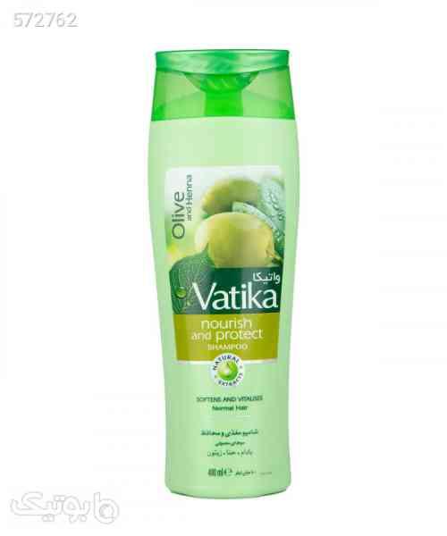 شامپو مغذی و محافظ موهای معمولی واتیکا Vatika حجم 400 میلیلیتر سبز 99 2020