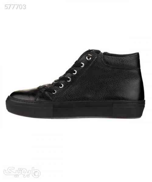 نیم بوت مردانه مارال چرم Maral Leather مدل M7110 مشکی 99 2020