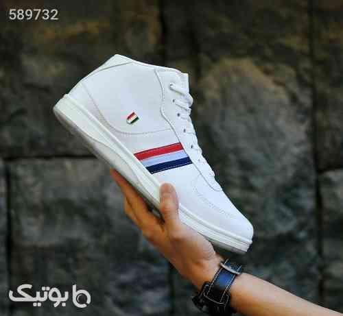 کفش ساقدار مردانه سفید 99 2020