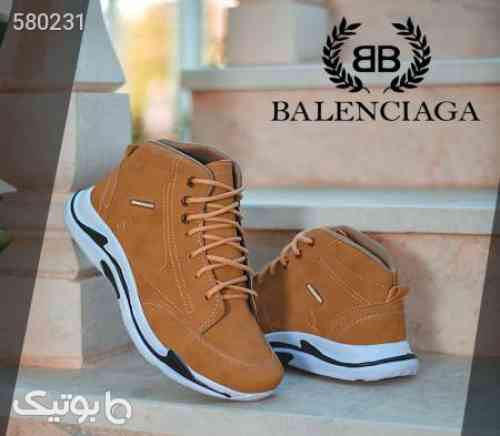 کفش ساقدار Balenciaga مدل Hoka (عسلی) قهوه ای 99 2020