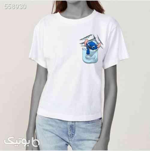 تیشرت سفید دخترانه سفید 99 2020