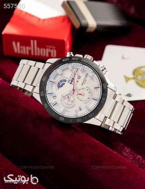 ساعت مچی مردانه Edifice مدل W3107 سفید 99 2020