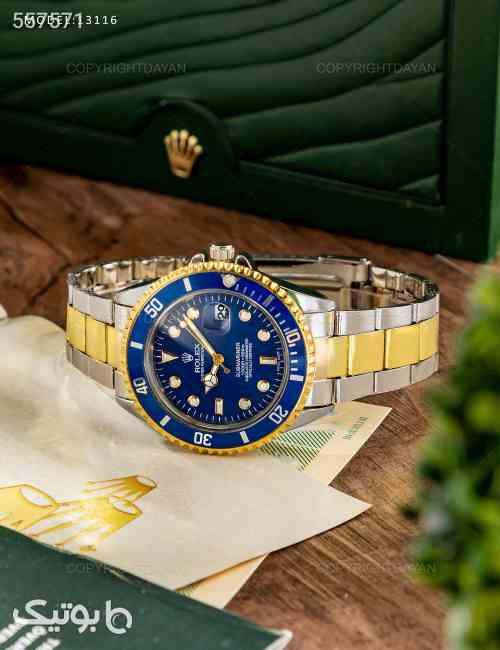 ساعت مچی Rolex مدل W3116 زرد 99 2020