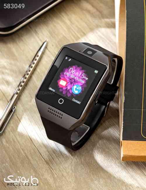 ساعت هوشمند Midsun Q18  مدل 12396 مشکی 99 2020