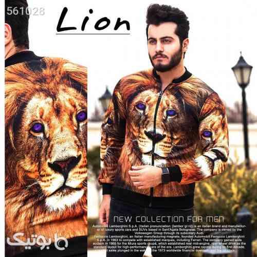 سویشرت مردانه مدل Lion قهوه ای 99 2020