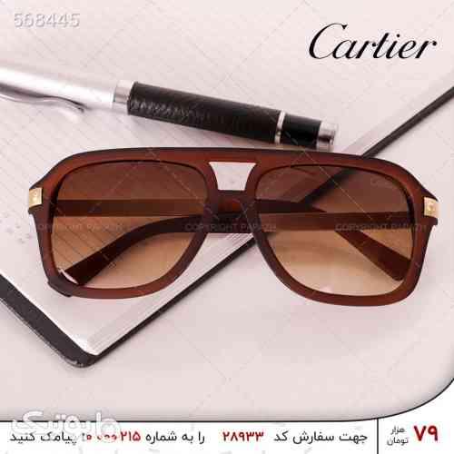 عینک مردانه CARTIER مدل 8200 زرشکی 99 2020