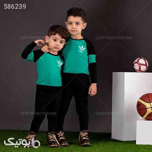 ست تیشرت و شلوار بچگانه Adidas مدل X3234 - لباس کودک پسرانه