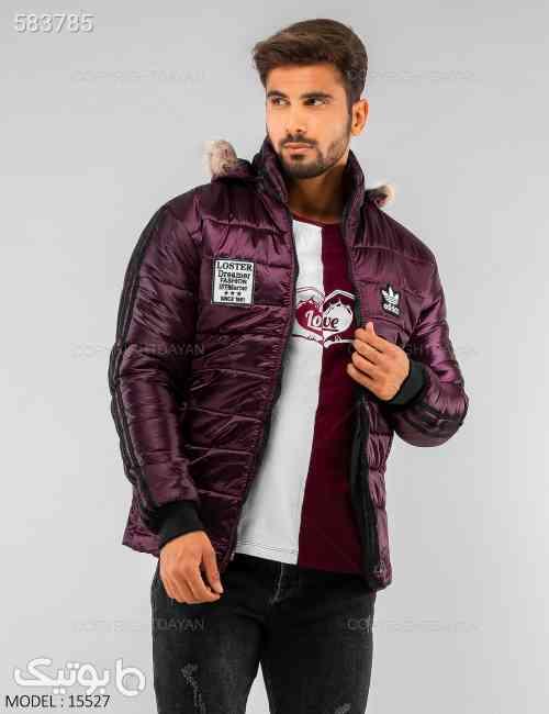 کاپشن مردانه Adidas مدل 15526 سبز 99 2020